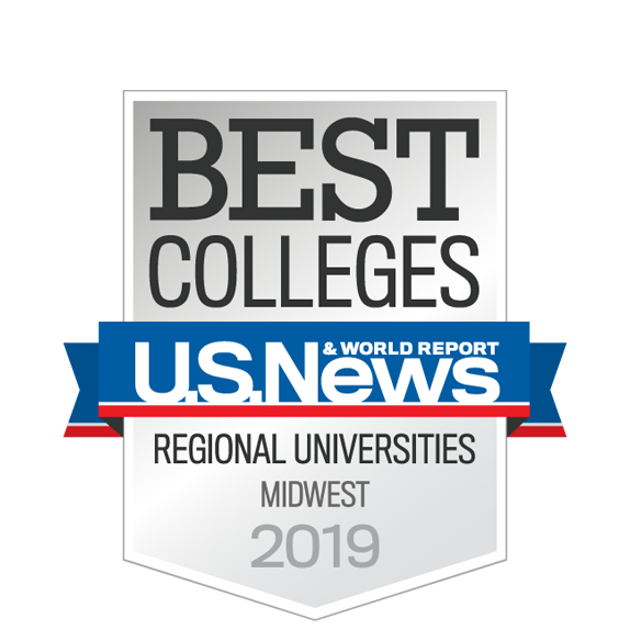 "For the 18th consecutive year, University of Detroit Mercy is listed in the top tier of Midwest Best Regional Universities in the 2019 edition of the U.S. News and World Report's ""Best Colleges."""