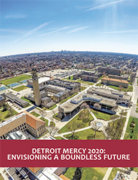 Cover for the Detroit Mercy 2020: Envisioning a Boundless Future