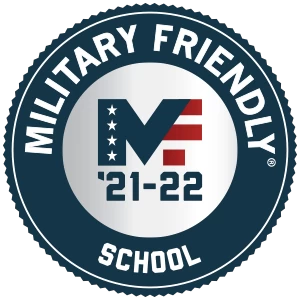 Military Friendly School logo.