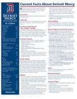 thumbnail of first page of detroit mercy fast facts sheet
