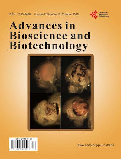 Cover of Advances in Bioscience and Biotechnology
