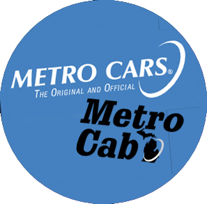 metrocab and metro car logos