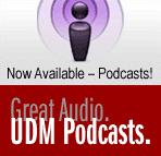 Great audio: UDMcasts