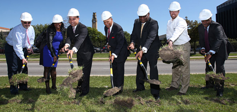 Livernois Streetscape Groundbreaking