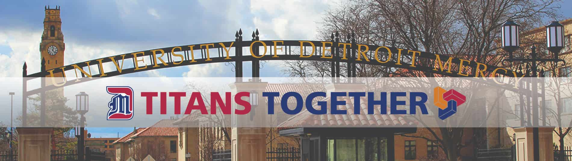 Phased Return - Titans Together - McNichols Campus gate