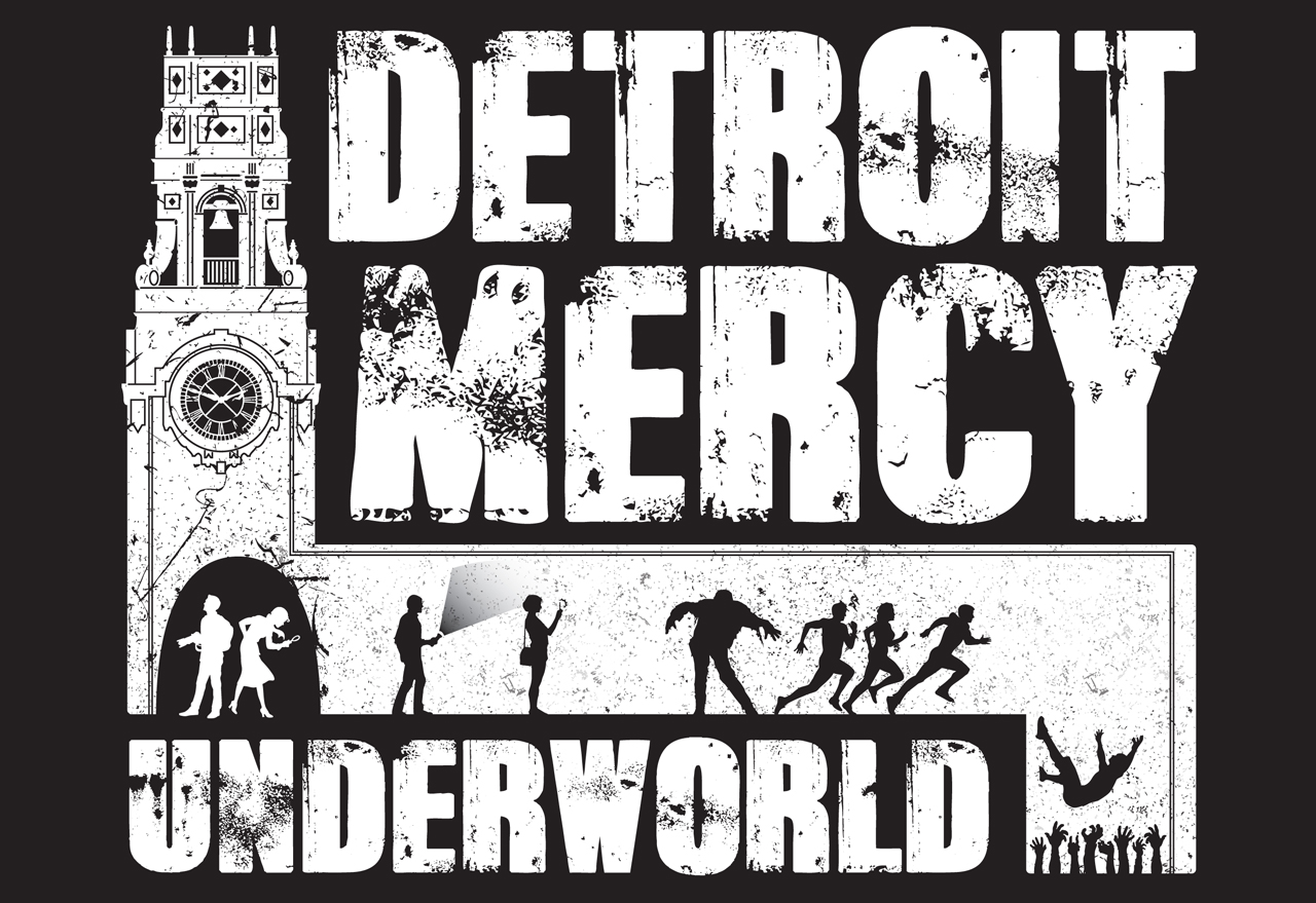 Detroit Mercy Underworld Logo