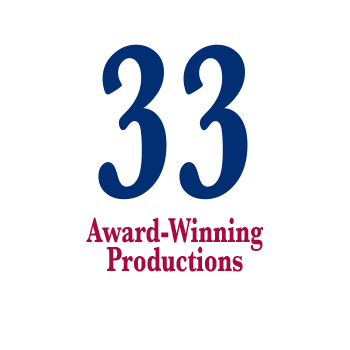 33 Award Winning Productions