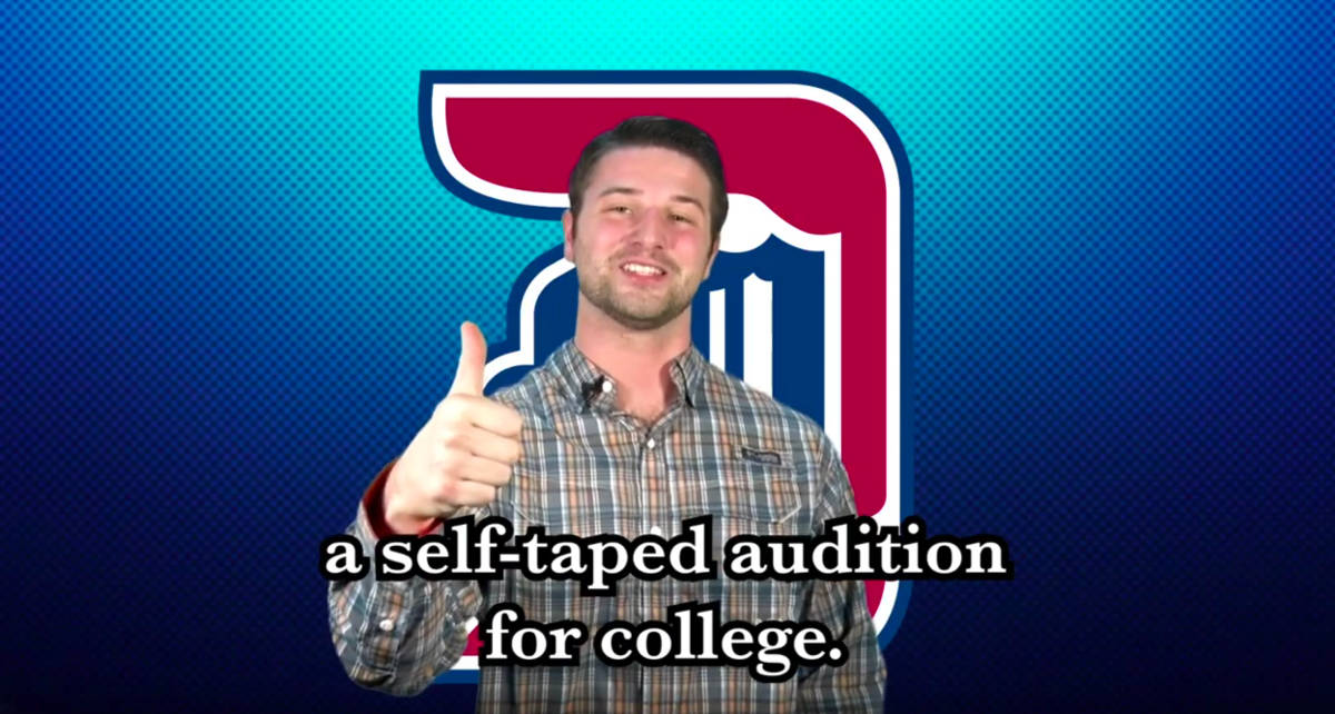 How to submit a self taped audition
